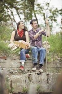 Hidden Harvest co-founders Katrina Siks and Jason Garlough