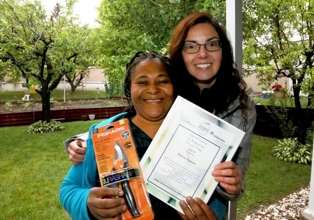 Graduate of Certificate in Beginner Fruit Tree Care | Community orchard