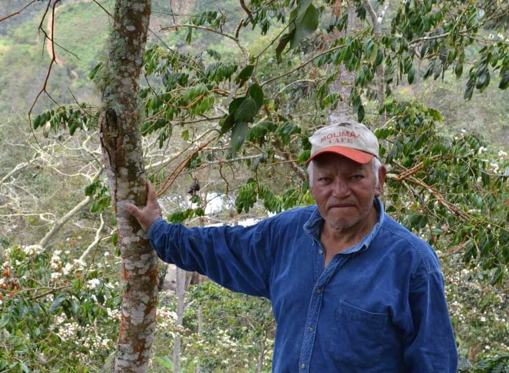 Coffee Farmer in Peru (photo credit Arbor Day Foundation)