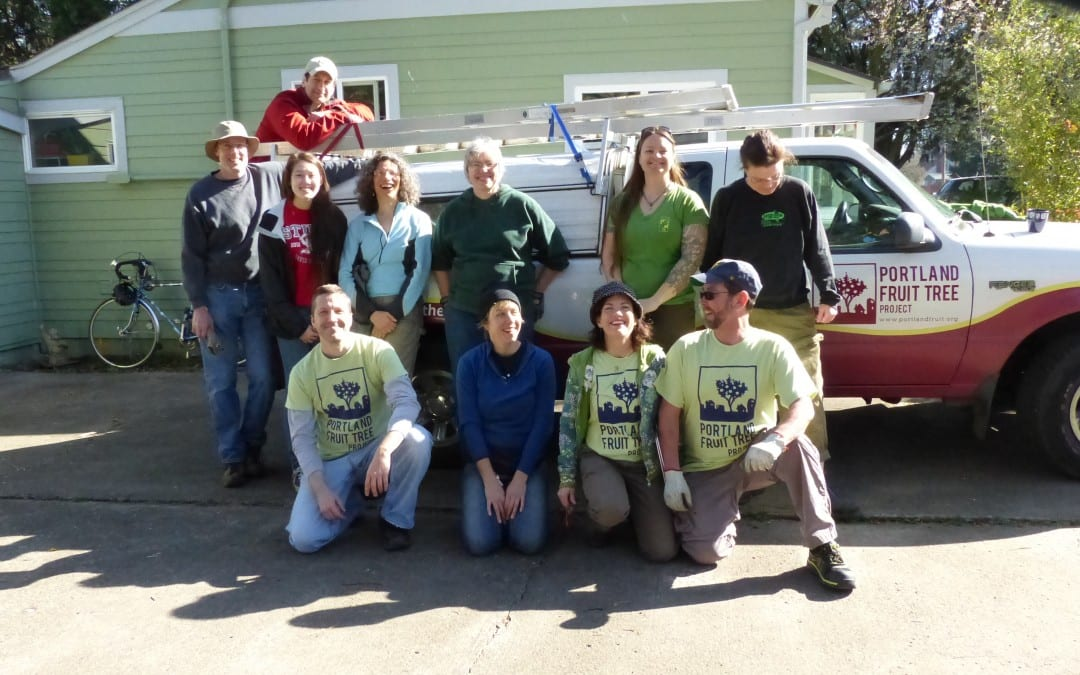 Portland Fruit Tree Project Tree Care Teams