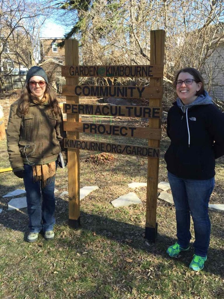 Erin and Liz from Kimbourne Garden. They will be the lead orchard stewards for the Kimbourne Community Garden.